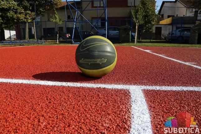 Obnovljen košarkaški teren u Prvomajskoj