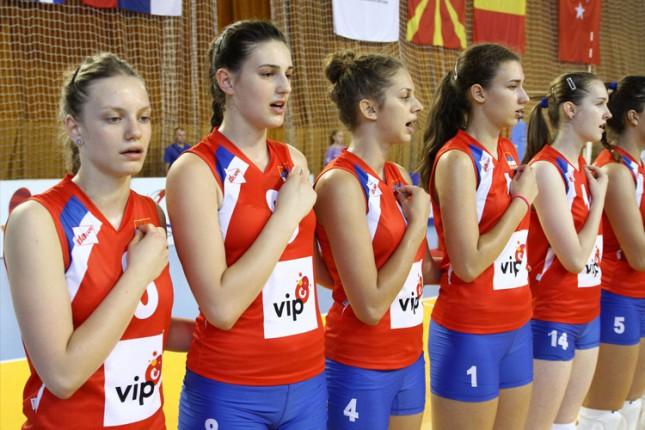 Odbojkašice Srbije na korak do šampionske medalje na Balkanijadi