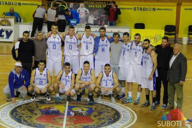Košarkaši Spartaka pobedom za kraj potvrdili ulazak u Prvu ligu Srbije