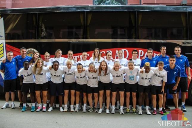 Fudbalerke Spartaka danas počinju kvalifikacije za Ligu šampiona