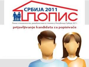 2.300 građana konkurisalo za popisivače