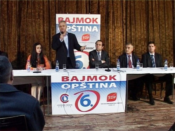SDP i URS u Bajmoku