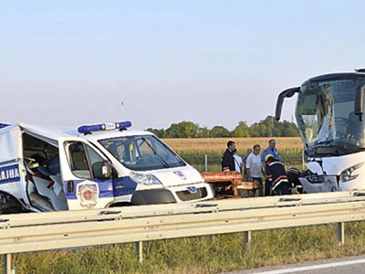 Povređeni policajci u stabilnom stanju