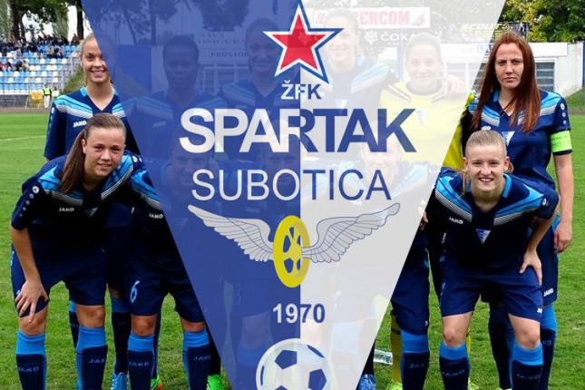 Fudbalerke Spartaka upisale tri boda bez igre