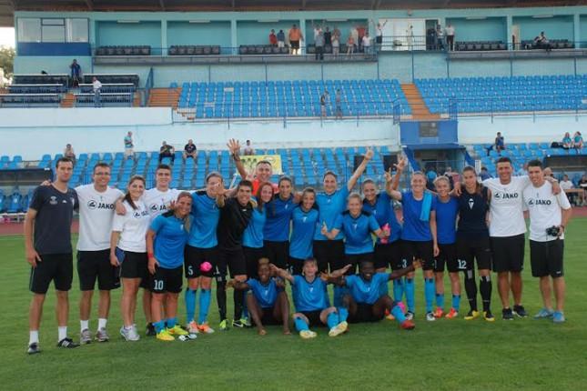 Fudbalerke Spartaka pobedom započele kvalifikacije za Ligu šampiona