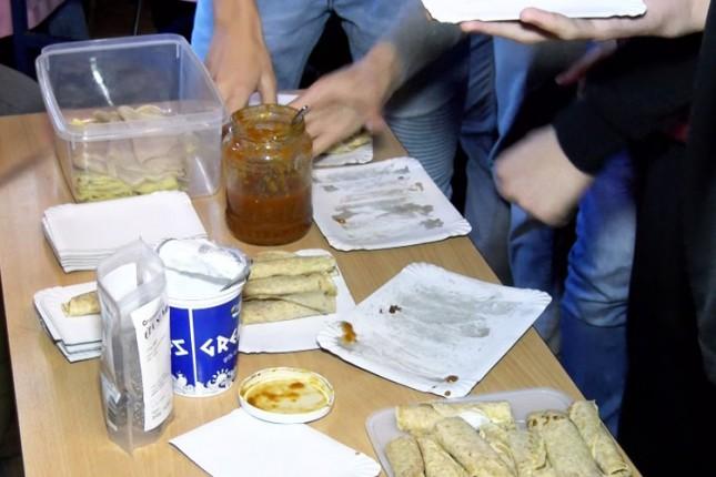 Bazar zdrave hrane u Gimnaziji