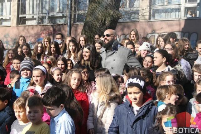 Učenici iz Subotice učestvovali u snimanju spota za Beoviziju