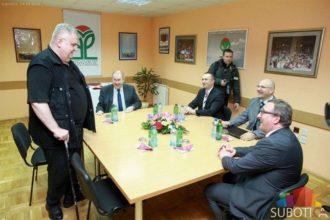Sastanak Pajtića, Pastora i Čanka u Subotici