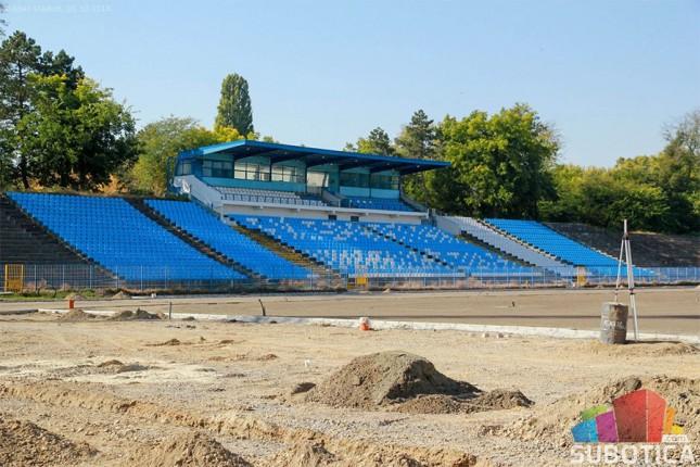 Završetak radova na Gradskom stadionu u toku novembra