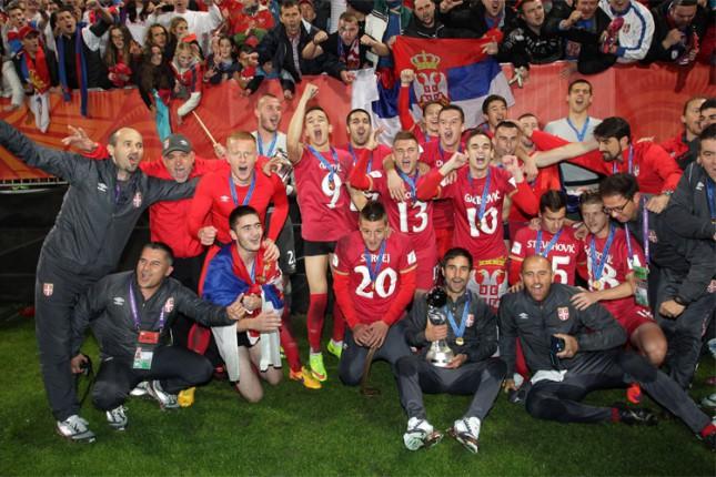 Spartakovi Ilić i Milošević sa Srbijom šampioni sveta u fudbalu!