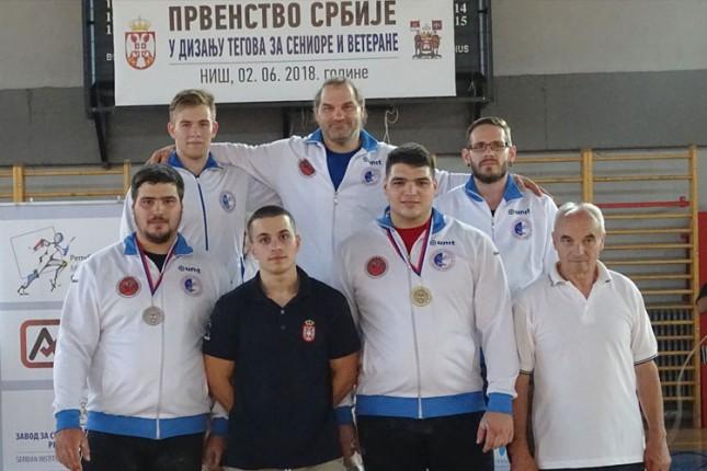 Dizanje tegova: Subotičani u Nišu osvojili pet zlatnih medalja
