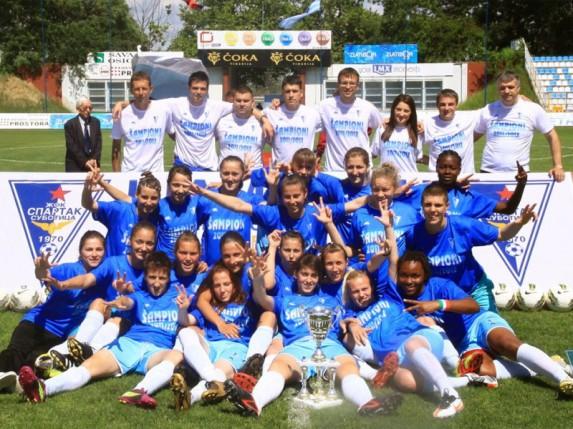 """ŽFK """"Spartak"""" ne želi da igra sa nepostojećim klubom"""
