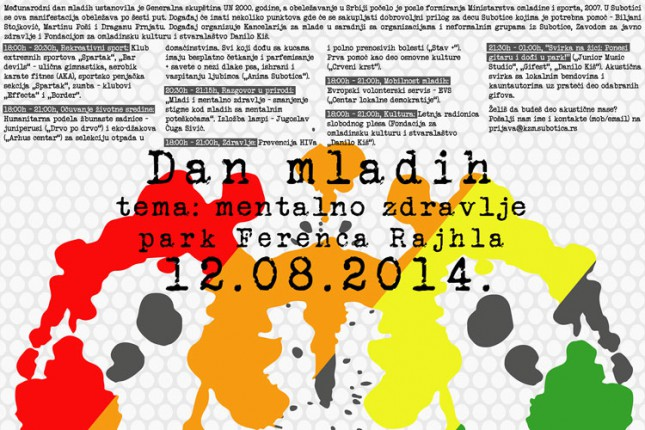 Sutra Dan mladih u Parku Ferenca Rajhla