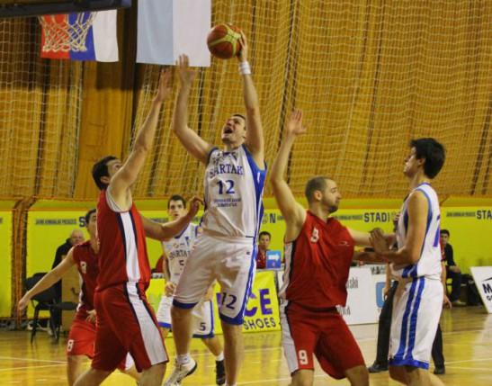 Pobeda košarakaša Sparataka protiv Jagodine