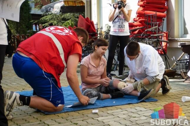 Takmičarske ekipe Crvenog krsta Subotice uspešne na Pokrajinskom takmičenju