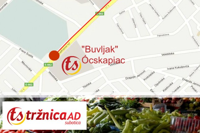 Cene životnih namirnica na Zelenoj pijaci na Buvljaku