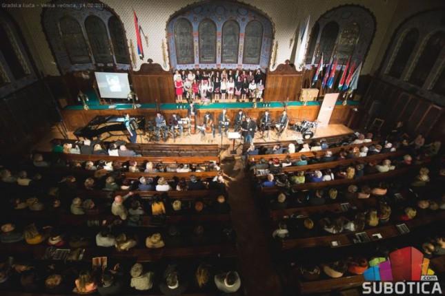 XVII Festival ljubavi i vina u sredu u Velikoj većnici