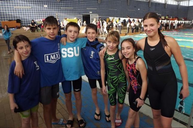 Uspešan nastup mladih Spartakovih plivača na Kupu Kikinde 2014