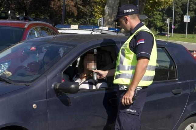 Pojačana kontrola vozača na prisustvo alkohola i droge