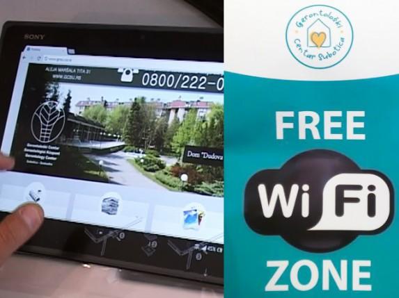Gerontološki centar uveo besplatni internet