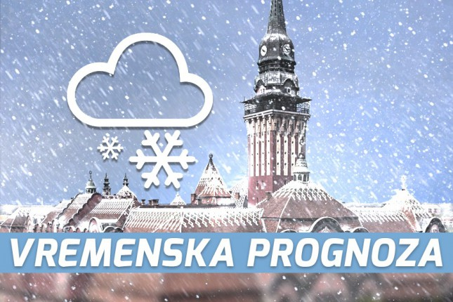Vremenska prognoza za 14. februar (sreda)