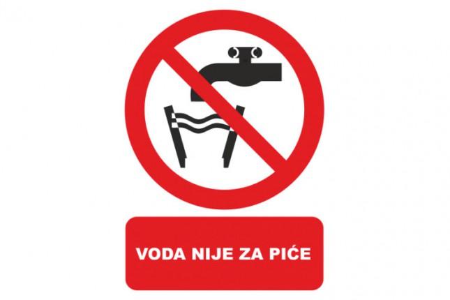 Zabranjena upotreba vode iz Vodozahvata Bikovo
