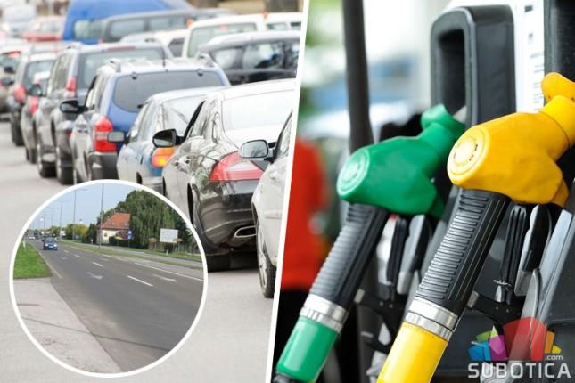 Protest zbog visokih cena goriva u petak