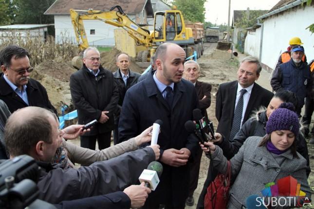 Malenković: Subotica veliko gradilište