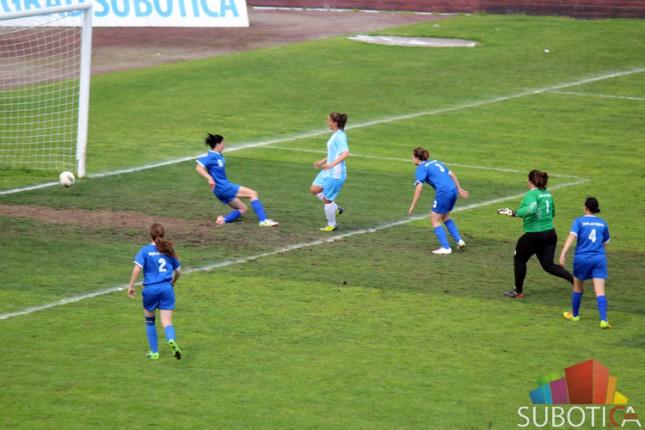 Fudbalerke Spartaka u polufinalu Kupa Srbije