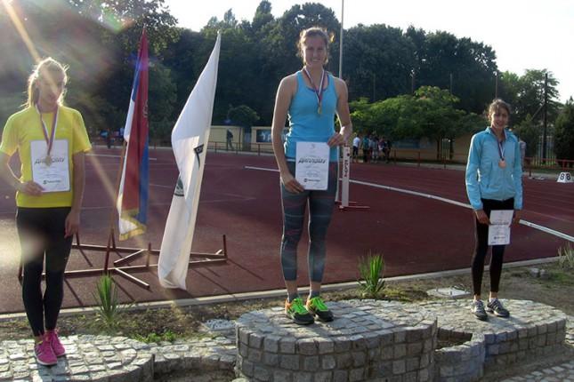 Atletičarka Luna Vodana Jović prvakinja Srbije na 400m uz ostvarenu normu za Svetsko prvenstvo