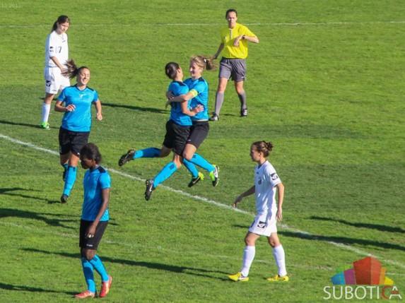 Pobeda fudbalerki Spartaka protiv Jagodine (11:0)