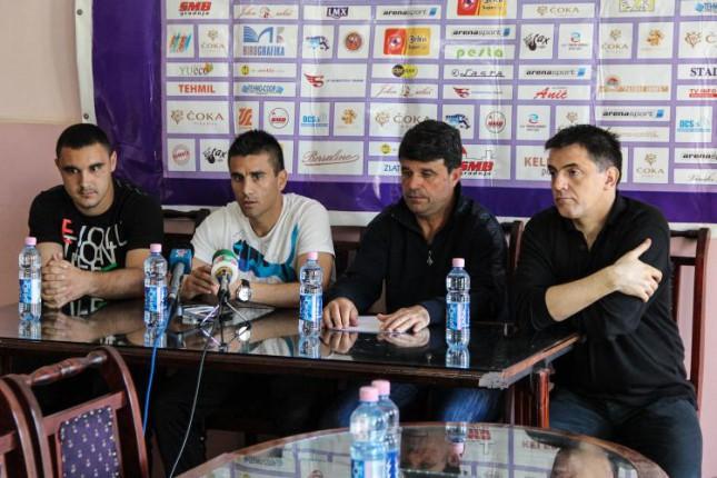 Fudbaleri Spartaka sutra dočekuju Novi Pazar