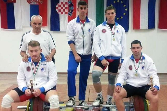 Dizači tegova osvojili četiri zlatne medalje na Kupu Budimpešte