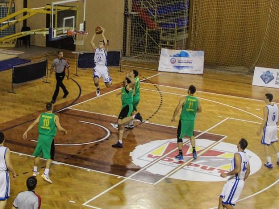 Pobeda košarkaša Spartaka protiv ekipe Kolubare (72:63)