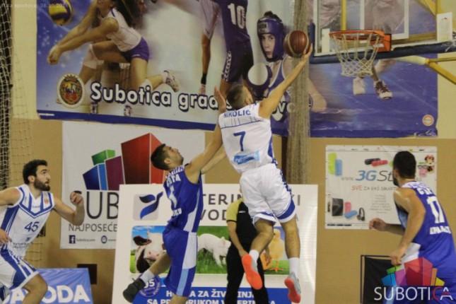 Košarkaši Spartaka ubedljivi protiv Smedereva (64:97)