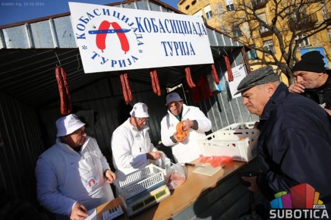 """""""Turijske kobasice"""" u petak na Gradskom trgu"""