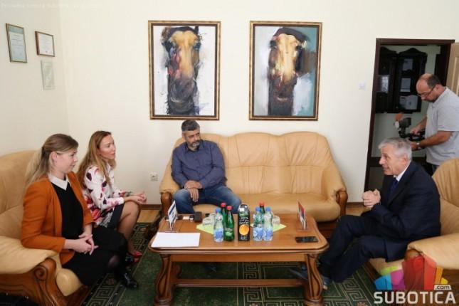 Predstavnici Ambasade Izraela u poseti RPK Subotica