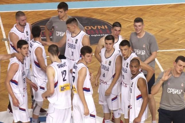 Košarkaši Srbije (U20) ubedljivi protiv Belgije (99:65)