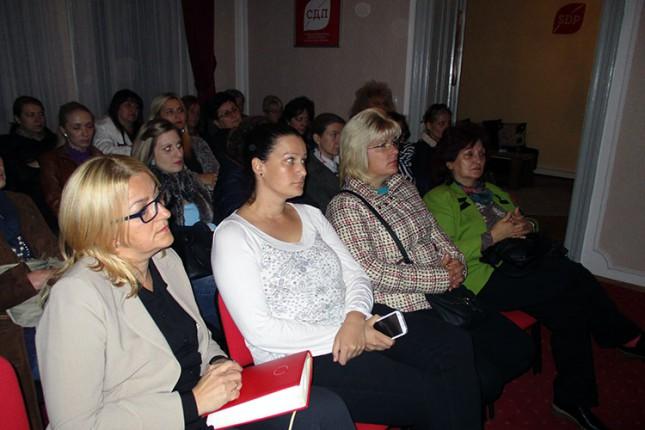 """Forum žena SDPS-a održao tribinu """"Karcinom dojke"""""""
