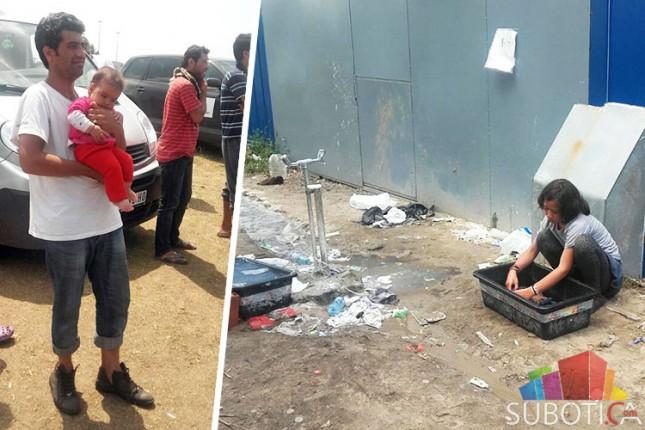 Migrantima koji borave na Horgošu ponuditi smeštaj u prihvatnim centrima u Srbiji
