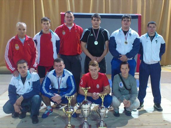 Dizači tegova Spartaka osvojili 9. uzastopnu ekipnu titulu