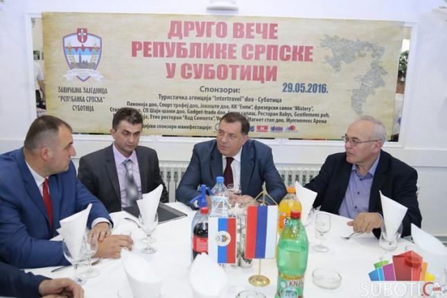 Održano 2. Veče Republike Srpske u Subotici