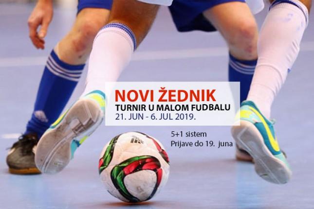 Počele prijave za turnir u malom fudbalu u Novom Žedniku