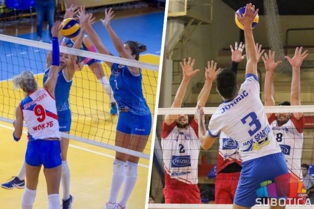 Odbojka, Kup Srbije: Spartak u muškoj i ženskoj konkurenciji prošao u četvrtfinale