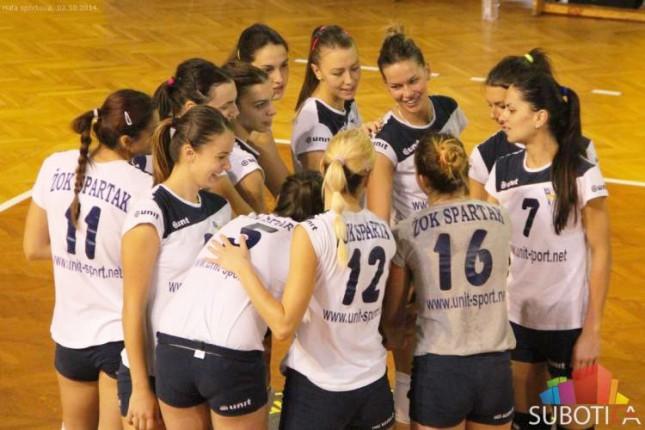 Odbojkašice Spartaka obezbedile plasman u četvrtfinale Kupa Srbije