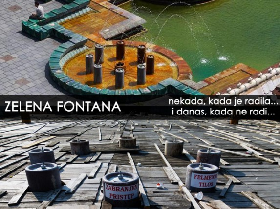 Zelena fontana nije prioritet gradske vlasti