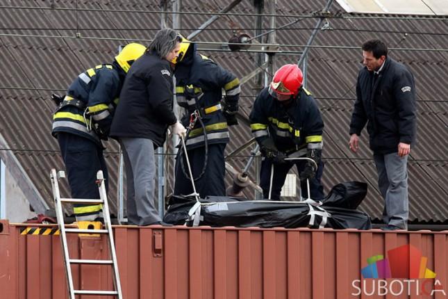 Tragedija - migranta ubila struja na Železničkoj stanici