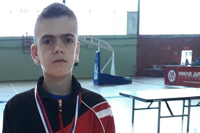 Preminuo Luka Andrašić, mladi as subotičkog i srpskog stonog tenisa