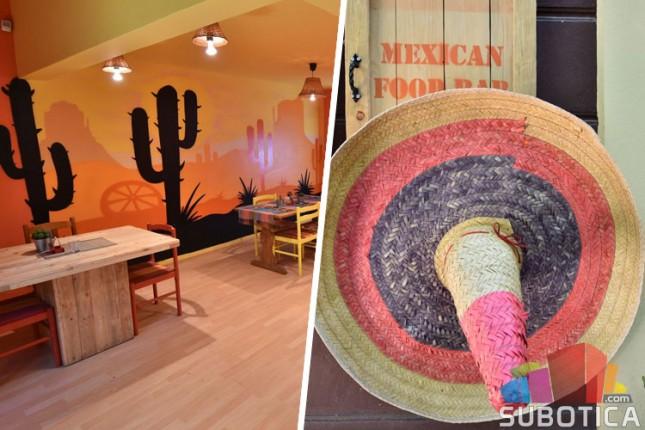 Meksički specijaliteti u centru grada