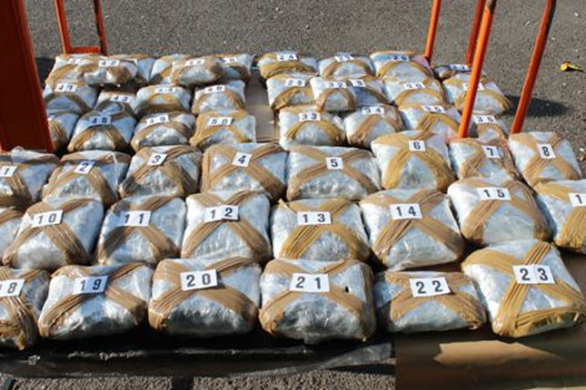 Zaplenjeno 25 kilograma marihuane na Horgošu